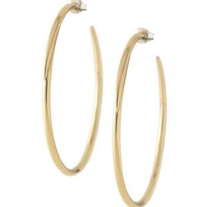🆕Stella & Dot Gold Signature Hoop Earrings